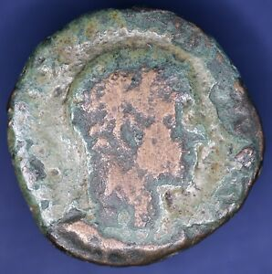 ROMAN COPPER COIN UNIDENTIFIED & UN RESEARCHED 27 MM  [11609]