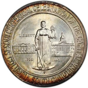 Click now to see the BUY IT NOW Price! COLUMBIA 1936 S 50C SILVER COMMEMORATIVE PCGS MS68
