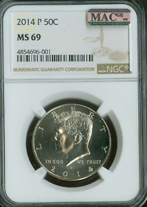 Click now to see the BUY IT NOW Price! 2014 P KENNEDY HALF DOLLAR NGC MAC MS69 FINEST BUSINESS STRIKE  SPOTLESS
