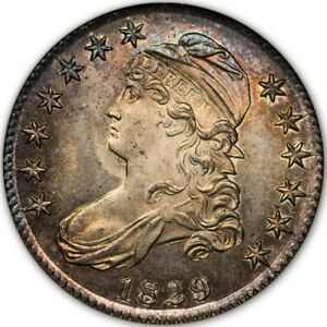Click now to see the BUY IT NOW Price! 1829 50C CAPPED BUST HALF DOLLAR NGC PF63  CAC