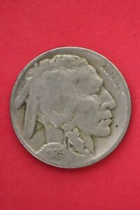 1925 P BUFFALO INDIAN NICKEL EXACT COIN PICTURED FLAT RATE SHIPPING OCE0411
