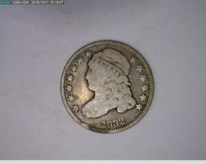 1832 10C CAPPED BUST DIME   78 285