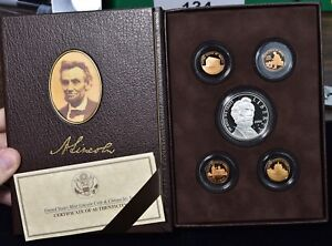 2009 LINCOLN COIN AND CHRONICLES SET  LN6  COMPLETE WITH BOX & COA