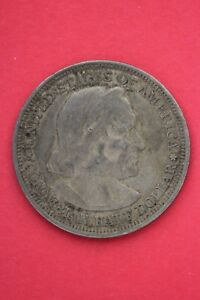 1893 COLUMBIAN EXPOSITION HALF DOLLAR EXACT COIN SHOWN FLAT RATE SHIPPING OCE201