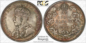 Click now to see the BUY IT NOW Price! 1936 TWENTY FIVE CENTS 25 PCGS MS 65   A GEM   SUPERB AMBER & RED TONES
