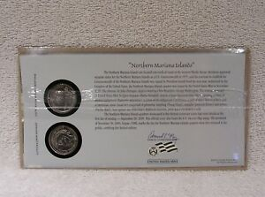 2009 NORTHERN MARIANA FIRST DAY COVER  SEALED CELLO P & D MINT STATE QUARTER WB6