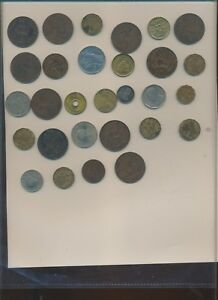 WORLD COINS BETTER LOT OF 29 COINS