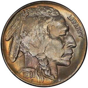Click now to see the BUY IT NOW Price! 1931 S 5C BUFFALO NICKEL PCGS MS67