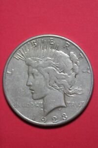 1923 S LIBERTY PEACE SILVER DOLLAR EXACT COIN SHOWN FLAT RATE SHIPPING TOM 073