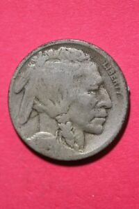1918 D BUFFALO INDIAN NICKEL EXACT COIN PICTURED FLAT RATE SHIPPING OCE 706