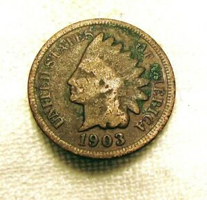 AA333 1903 INDIAN HEAD CENT