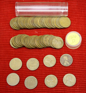 1926 D LINCOLN WHEAT CENTS    1 CIRCULATED ROLL