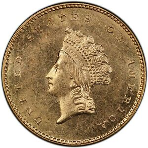 Click now to see the BUY IT NOW Price! 1856 S/S G$1 RPM FS 501 S.S. CENTRAL AMERICA 2  WITH PINCH  PCGS MS64  CAC