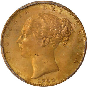 Click now to see the BUY IT NOW Price! FINEST KNOWN GREAT BRITAIN 1846 QUEEN VICTORIA GOLD SOVEREIGN   PCGS MS 66