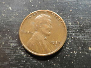 1927 S LINCOLN WHEAT CENT    SOLID GOOD   FILLER KEY COIN