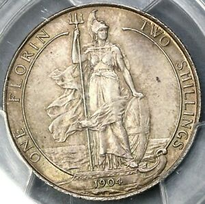 Click now to see the BUY IT NOW Price! 1904 PCGS MS 64 FLORIN EDWARD VII GREAT BRITAIN  SILVER COIN  19040201C