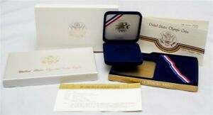 OGP FOR 1984 W U.S. OLYMPIC GAMES COMMEMORATIVE PROOF $10 GOLD EAGLE