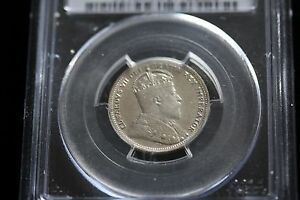 Click now to see the BUY IT NOW Price!   1905   PCGS GRADED CANADIAN SILVER 25 CENT   AU 55