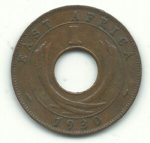 VERY NICE HIGHER GRADE 1930 EAST AFRICAN AFRICA ONE CENT JUN171