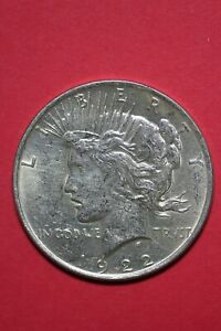 1922 P LIBERTY PEACE SILVER DOLLAR EXACT COIN SHOWN FLAT RATE SHIPPING TOM 304
