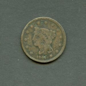 UNITED STATES 1838? LARGE CENT YOU DO THE GRADING HAVE FUN