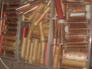 Click now to see the BUY IT NOW Price! CANADA 1949  BU ROLL PENNIES ONE ROLL FROM THE LOT.