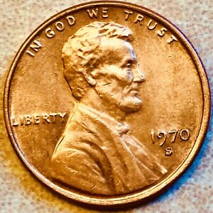 1970 S LINCOLN ERROR CENT LD DDO UNCIRCULATED  MS