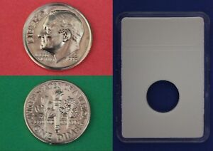 1995 D ROOSEVELT DIME WITH DIY SLAB FROM MINT SETS  COMBINED SHIPPING