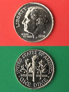 2014 D ROOSEVELT DIME FROM UNCIRCULATED MINT SETS COMBINED SHIPPING