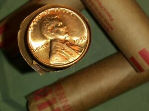 1950'S U.S. WHEAT CENT ROLLS NO MILDEW NO DAMAGED AND NO WORN OUT COINS