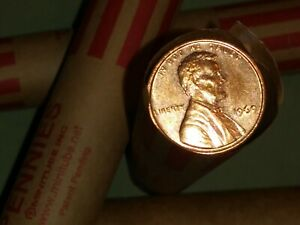 1960'S U.S. MEMORIAL CENT ROLL   NO DAMAGED AND NO WORN OUT COINS QUALITY FIRST