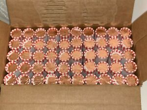 2019D LINCOLN SHIELD CENT UNCIRCULATED ORIGINAL PENNY SEALED ROLLS N.F.STRING