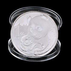 2019 CHINA PANDA COMMEMORATIVE COIN SILVER PLATED SOUVENIR COIN NEW YEAR GIFCHP