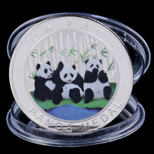 2019 CHINA PANDA COMMEMORATIVE COIN SOUVENIR COIN NEW YEAR GIFTS COLLECTIONFBHEP