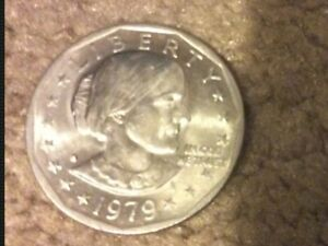 1979 SUSAN B. ANTHONY DOLLAR COIN ERROR