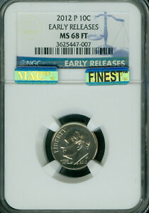 Click now to see the BUY IT NOW Price! 2012 P ROOSEVELT DIME NGC MS68 FT ER PQ MAC FINEST REGISTRY POP 3 MAC SPOTLESS