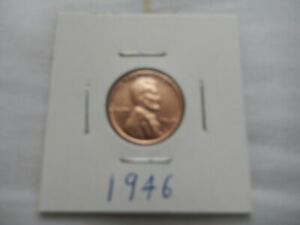 1946 LINCOLN CENT CIRCULATED   PERFECT FOR COIN BOOKS