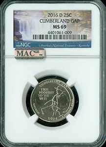 Click now to see the BUY IT NOW Price! 2016 D CUMBERLAND QUARTER NGC MAC MS69 FINEST REGISTRY SPOTLESS
