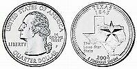2004 P TEXAS STATE QUARTER BU BRILLIANT UNCIRCULATED COIN