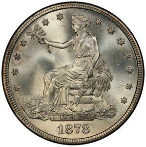 Click now to see the BUY IT NOW Price! 1878 S T$1 TRADE DOLLAR PCGS MS66