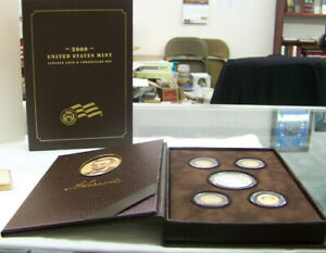 2009 LINCOLN COIN & CHRONICLES PROOF SET US MINT   BOX SLEEVE & COA   5 COINS