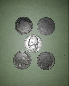 VINTAGE NICKEL LOT