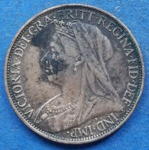 UK   1 FARTHING 1898 KM 788.2 VICTORIA  1837 1901    EDELWEISS COINS