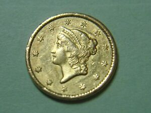 1851 $ 1.00 U.S.GOLD TYPE ONE .. GETTING R ALL THE TIME