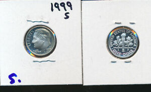 ROOSEVELT SILVER DIME   1999 S CAMEO GEM PROOF   BETTER DATE