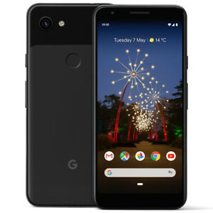 GA00763 DE GOOGLE PIXEL 3A XL SMARTPHONE 12.2 MP 64 GB BLACK 15.24 CM  6