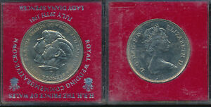 GREAT BRITAIN CROWNS 1981   3 BU COINS
