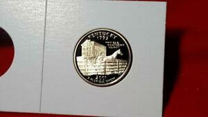 2001 S KENTUCKY STATE QUARTER     ULTRA DEEP CAMEO PROOF MUST SEE PICS