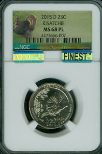 Click now to see the BUY IT NOW Price! 2015 D KISATCHIE QUARTER NGC MS68 PL PQ ER FINEST REGISTRY  MAC SPOTLES