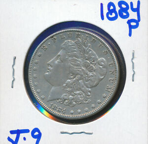 MORGAN SILVER DOLLAR BUY    1884 P J9